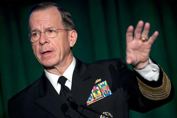 FILE -- Then Chairman of the Joint Chiefs of Staff Navy Adm. Mike Mullen, Jan. 31, 2011. (DoD/Petty Officer 1st Class Chad J. McNeeley)