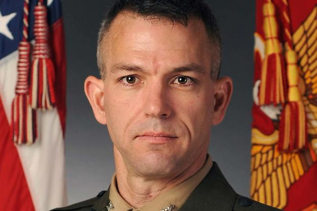 Colonel Morgan G. Mann (Marine Corps Photo)