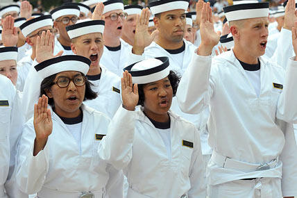 Naval Academy Greets Record Number of Females | Military com