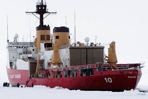 CGC POLAR STAR (WAGB-10) is a United States Coast Guard Heavy Icebreaker.