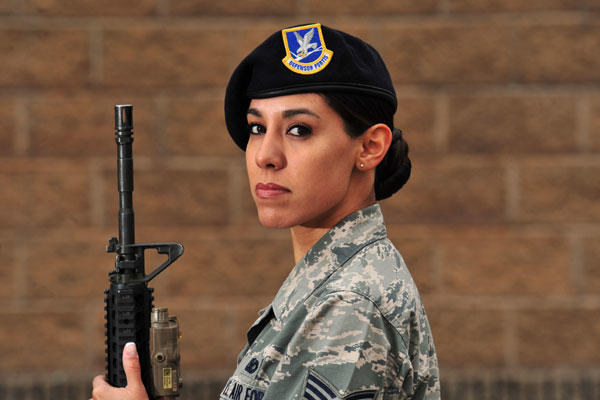 caption the air force is planning on opening the seven positions currently limited only to male airmen air force photo