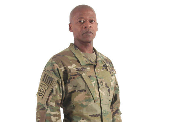 The Army's Operational Camouflage Pattern uniform