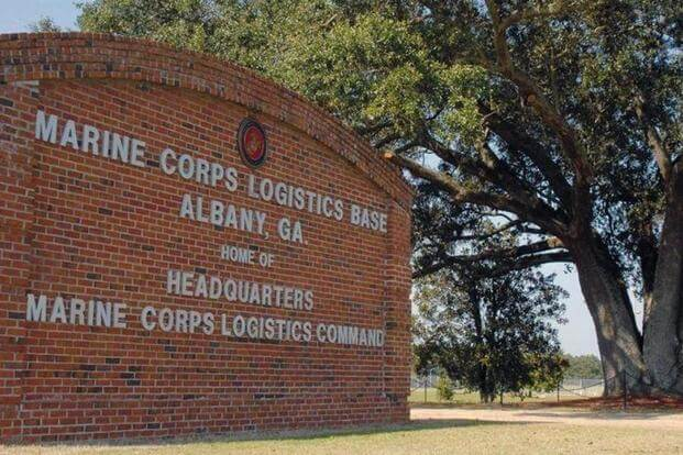 Marine Corps Logistics Base Albany sign (Photo: DoD)