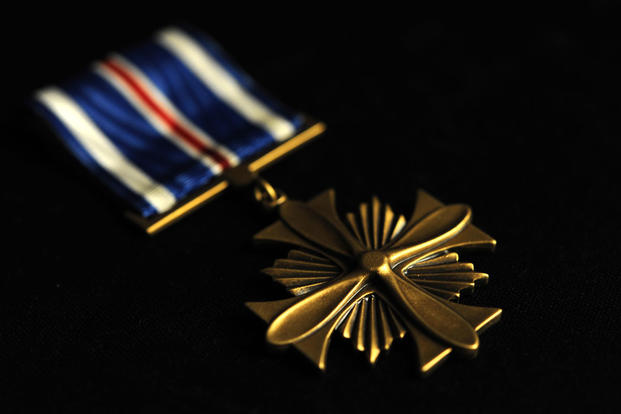 Distinguished Flying Cross (U.S. Air Force photo)