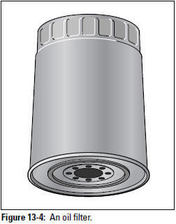 Figure 13-4: An oil filter.