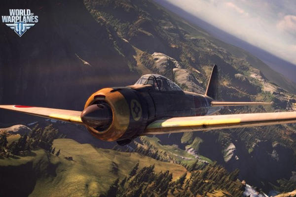 World of Warplanes fighter.
