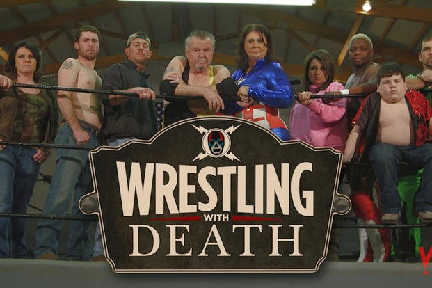"""Wrestling With Death"" is a reality show about a mortician who's also a professional wrestler."