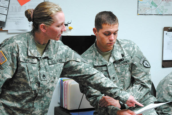 Dating an active duty soldier