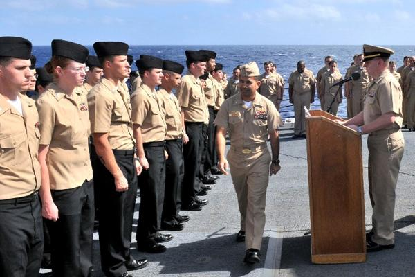 Navy Petty Officer Advancement Results | Military com