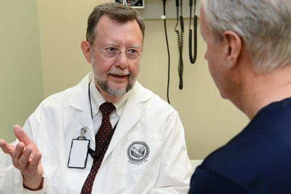 Dr. Maurice Dysken, geriatric psychiatrist at the Minneapolis VA Health Care system, led a VA study testing vitamin E and other treatments for Alzheimer's disease. (VA photo)