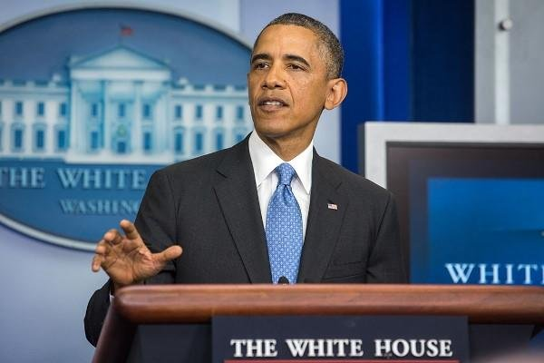 "President Obama has vowed the US and its partners ""will not relent"" in the fight against IS.(White House photo)"
