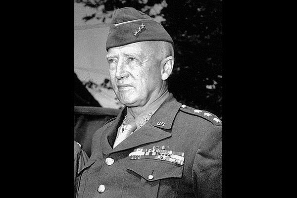 George S. Patton as a lieutenant general (U.S. Army photo)