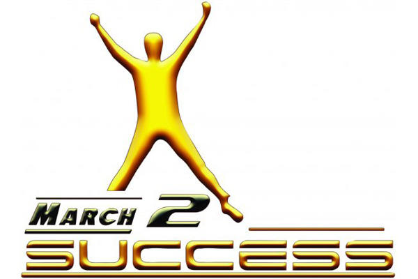 March 2 Success logo.
