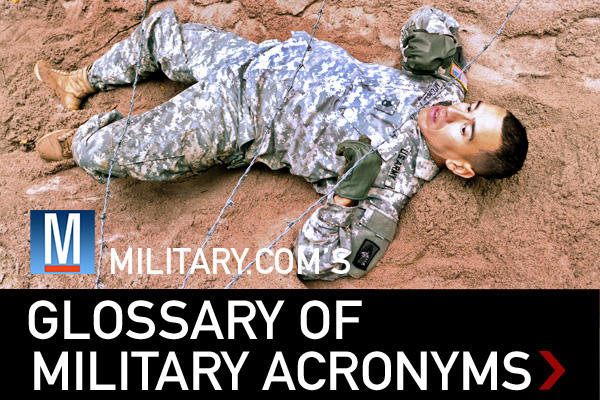 glossary of military acronyms
