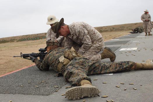 Marine sharpshooter qualifications