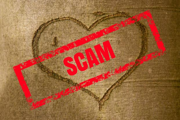 online dating scams us military