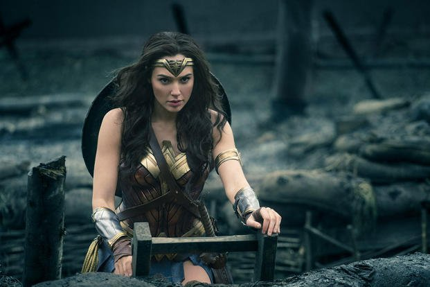 Wonder Woman. Photo courtesy of Warner Brothers