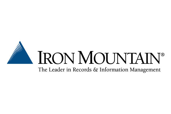 Iron Mountain logo.