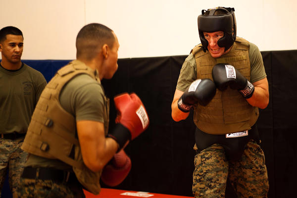 Camp Smith Marines train for combat mindset.