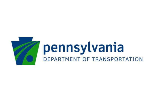 Pennsylvania department of transportation logo.