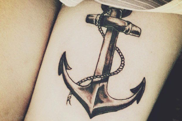 What does your anchor tattoo mean