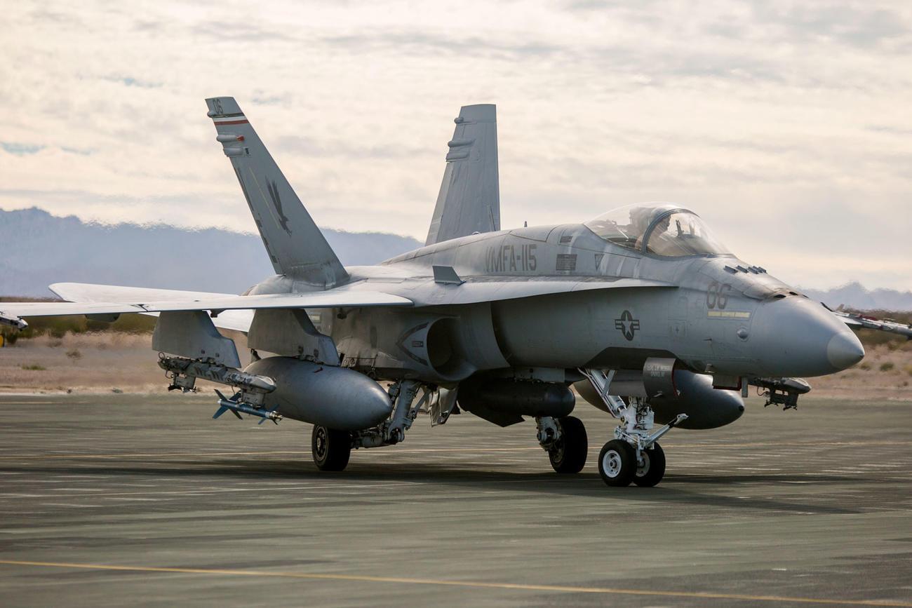 Marines' Classic Hornet Jets to Get Upgraded Radar