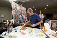 President George W Bush Painting lead image