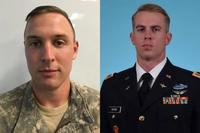 1st Lt. Clayton R. Cullen and Chief Warrant Officer 2 Kevin F. Burke died Jan. 20, 2018, in an AH-64 Apache helicopter crash at Fort Irwin California. (U.S. Army photos)