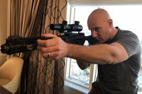 Ryker USA CEO Josh Robertson demonstrates the Ryker Grip. Hope Hodge Seck/Military.com