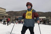 Army veteran Mick Doto hits the slopes at Snowmass, Colorado.