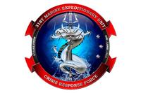 Newly-designed official crest for the Japan-based 31st Marine Expeditionary Unit. (U.S. Marine Corps Image)