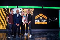 The cast of Military Makeover With Montel Williams.