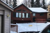 The rental home of an Army family literally fell apart during Alaska's Nov. 30 7.0 magnitude earthquake. (Photo courtesy of Logan Cushman)