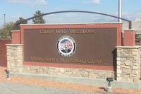 Sign greets visitors at Camp Williams, the home of the Utah Army National Guard. (Army Photo)