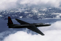 An Air Force U-2 Dragon Lady flies a training mission. Iran says it sent a warning to a U-2 on March 21. (US Air Force photo/Rose Reynolds)