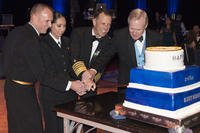 Honoring the Navy's 241st birthday at the National Capital Region Navy Ball