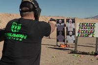 Former Navy SEAL Jared Ogden of Triumph Systems introduces his new innovative targets.