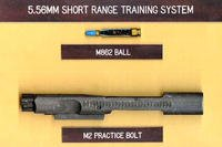 "The Army's current training ammunition, known as the M-862 Short Range Training System will eventually be replaced with a new, ""green"" ammunition that will contain no lead and be more environment friendly. (U.S. Army photo)"