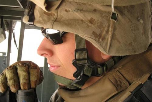 Marine Lance Cpl. Jordan Haerter. (Photo: Courtesy of JoAnn Lyles)