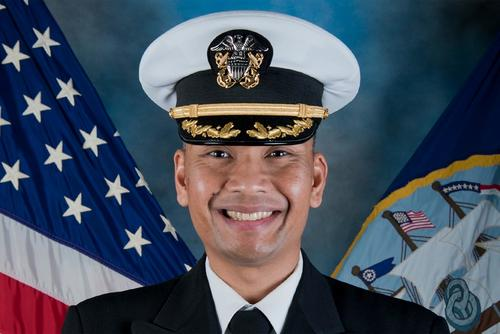 Cmdr. Blandino Alvin Villanueva was relieved of his duties as executive officer of the USS Decatur on Aug. 15, 2018. (U.S. Navy Photo)